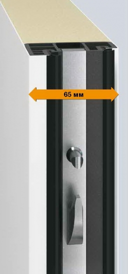 Уличные металлические входные двери Hormann Thermo Pro PLUS